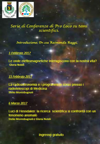 Conferenze a tema scientifico