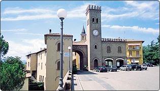 Casalfiumanese - Piazza Cavalli