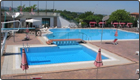 Vie en Rose outdoor swimming pool