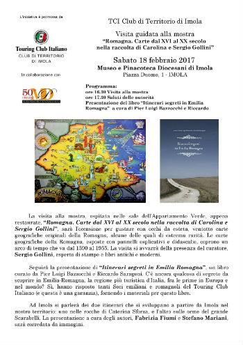 Visita Guidata Mostra: ROMAGNA - Carte dal XVI al XX secolo nella raccolta di Carolina e Sergio Gollini